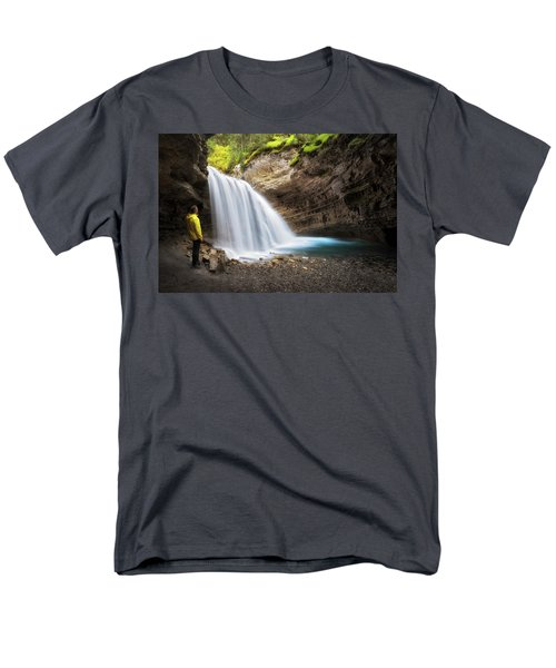 Solitary Moment Men's T-Shirt  (Regular Fit) by Nicki Frates
