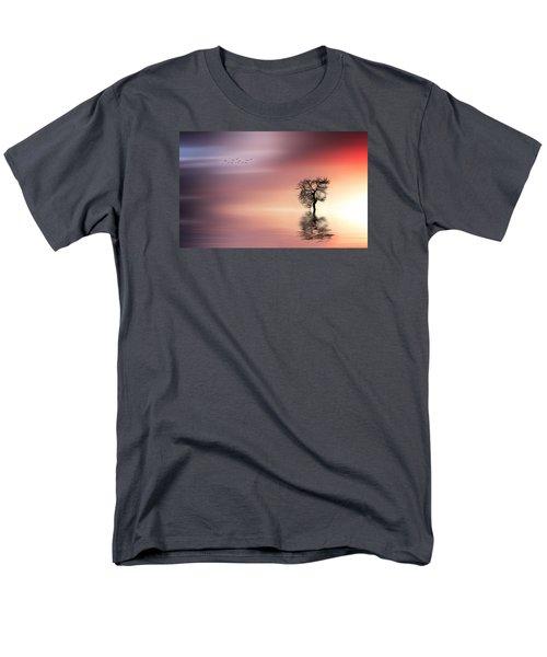 Solitude Men's T-Shirt  (Regular Fit) by Bess Hamiti