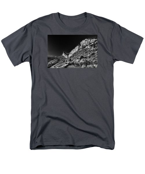Men's T-Shirt  (Regular Fit) featuring the digital art Somewhere In Mesa Verde by William Fields