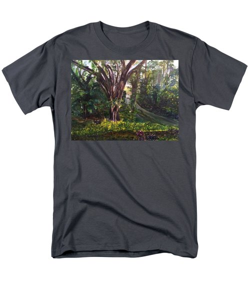 Somewhere In The Park Men's T-Shirt  (Regular Fit) by Belinda Low