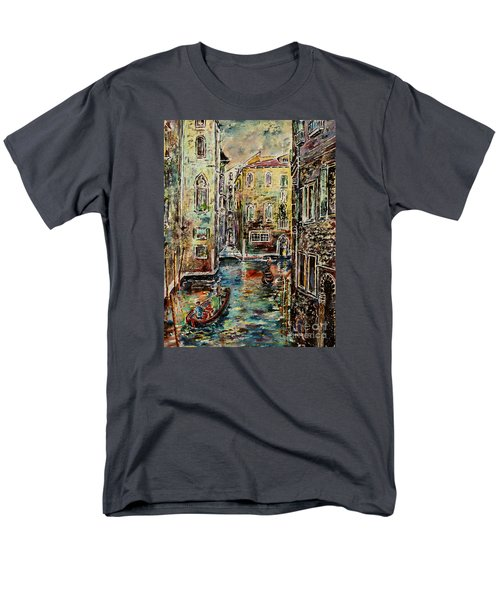 Somewhere In Venice Men's T-Shirt  (Regular Fit) by Alfred Motzer
