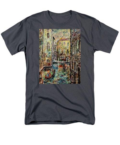Somewhere In Venice Men's T-Shirt  (Regular Fit)