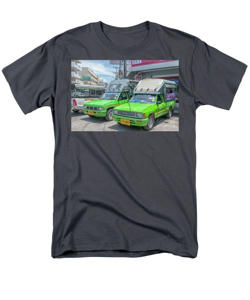 Men's T-Shirt  (Regular Fit) featuring the photograph Songthaew Taxi by Antony McAulay