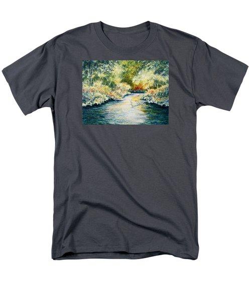 South Branch Of The Little Wolf Men's T-Shirt  (Regular Fit)
