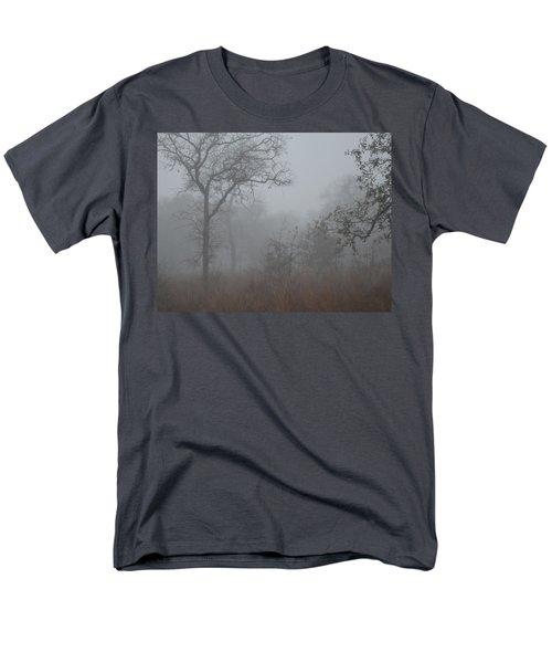 Men's T-Shirt  (Regular Fit) featuring the photograph South Texas Fog I by Carolina Liechtenstein