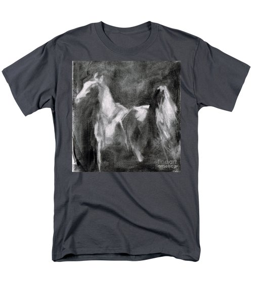 Southwest Horse Sketch Men's T-Shirt  (Regular Fit) by Frances Marino