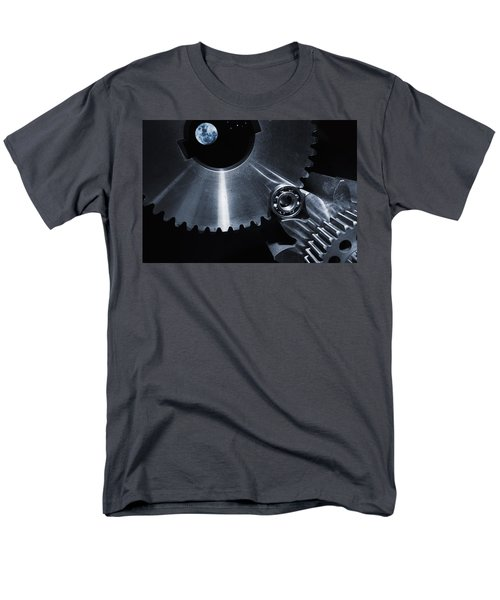 Space Technology And Titanium Parts Men's T-Shirt  (Regular Fit) by Christian Lagereek