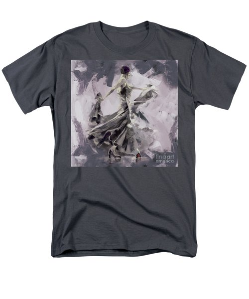 Men's T-Shirt  (Regular Fit) featuring the painting Spanish Dance Painting 03 by Gull G