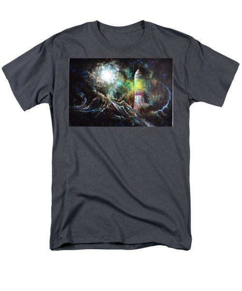 Sparks - The Storm At The Start Men's T-Shirt  (Regular Fit) by Sandro Ramani