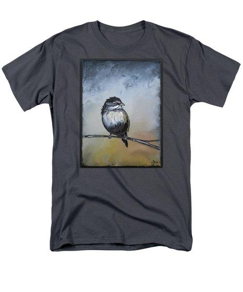 Sparrow Men's T-Shirt  (Regular Fit) by Carolyn Doe