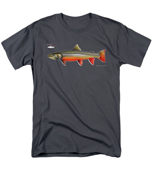 Spawning Bull Trout And Kokanee Salmon Men's T-Shirt  (Regular Fit) by Nick Laferriere