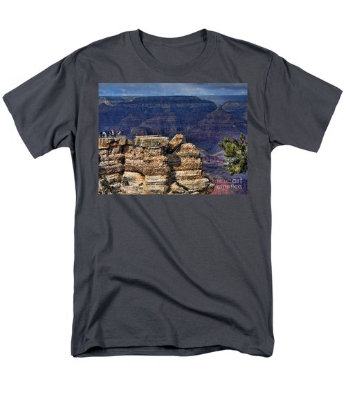 Men's T-Shirt  (Regular Fit) featuring the photograph Spectacular Grand Canyon by Roberta Byram