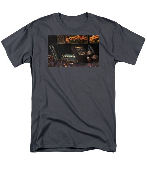 Men's T-Shirt  (Regular Fit) featuring the photograph Spells And Potions by Robin-Lee Vieira