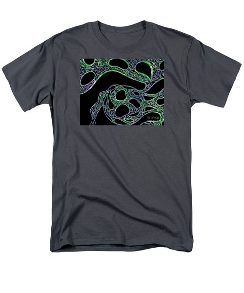 Men's T-Shirt  (Regular Fit) featuring the drawing Sphere Night by Jamie Lynn