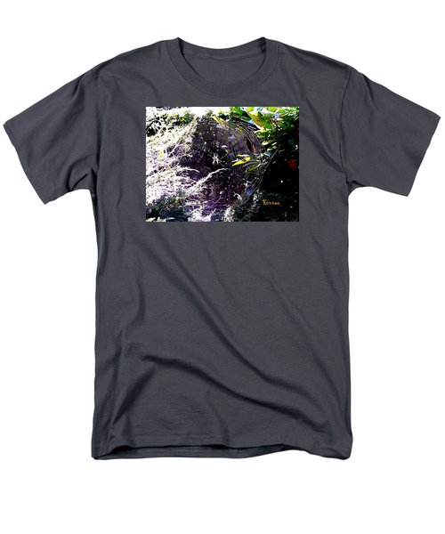 Men's T-Shirt  (Regular Fit) featuring the photograph Spider And Web 2 by Sadie Reneau