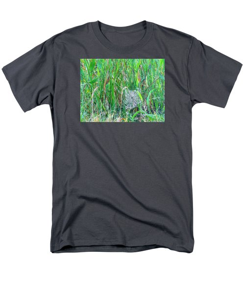 Men's T-Shirt  (Regular Fit) featuring the photograph Spider Web by Kay Gilley