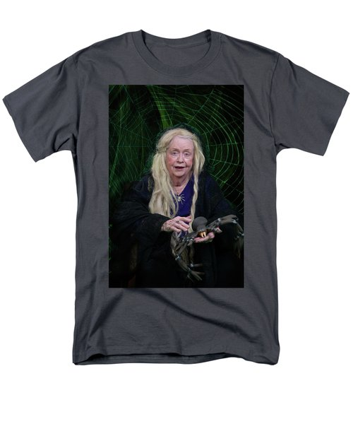 Spider Woman Men's T-Shirt  (Regular Fit) by David Clanton