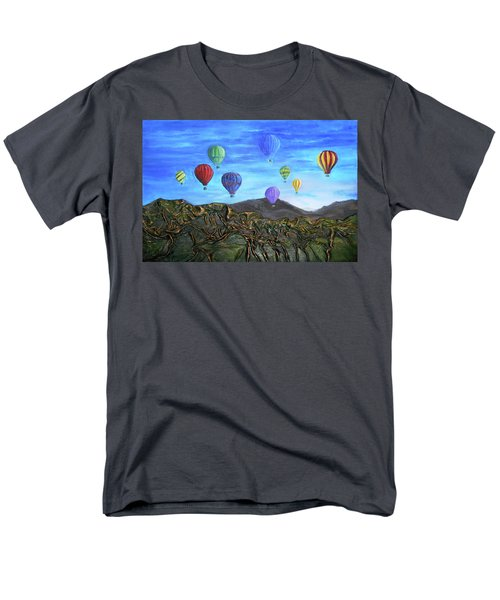 Men's T-Shirt  (Regular Fit) featuring the mixed media Spirit Of Boise by Angela Stout