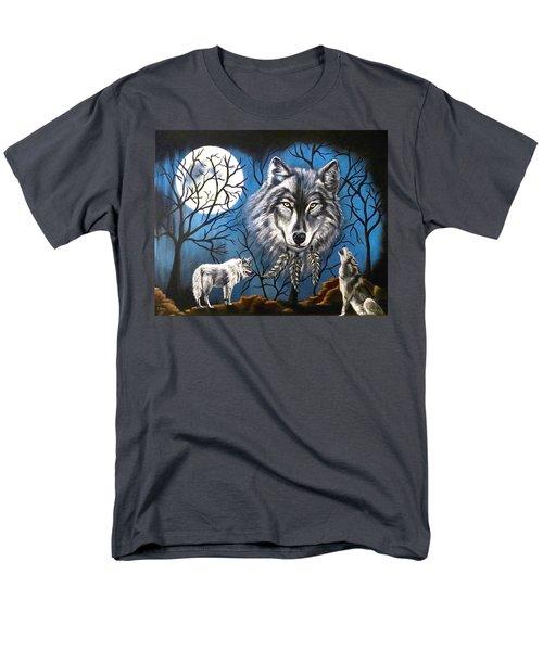 Spirit Wolf Men's T-Shirt  (Regular Fit)