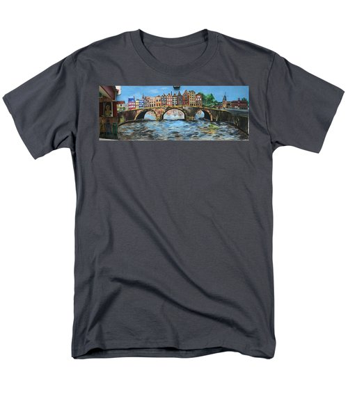 Spiritual Reflections Men's T-Shirt  (Regular Fit) by Belinda Low