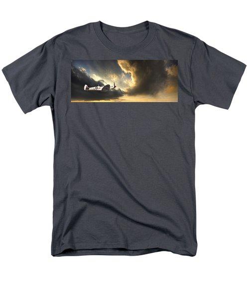 Spitfire Men's T-Shirt  (Regular Fit) by Meirion Matthias