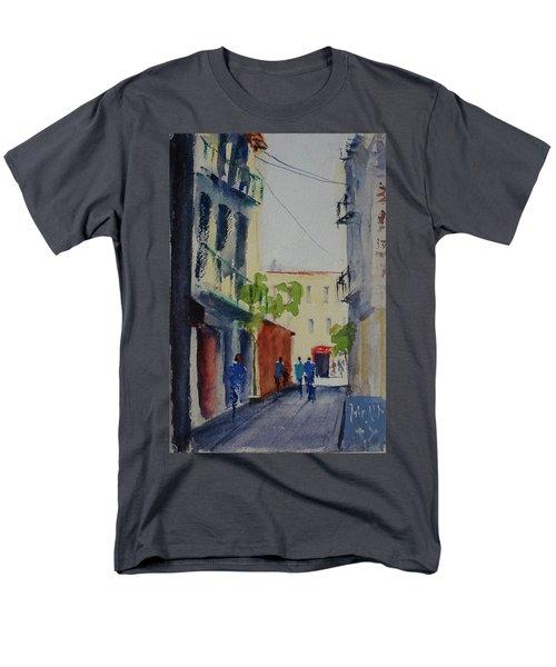 Spofford Street3 Men's T-Shirt  (Regular Fit) by Tom Simmons