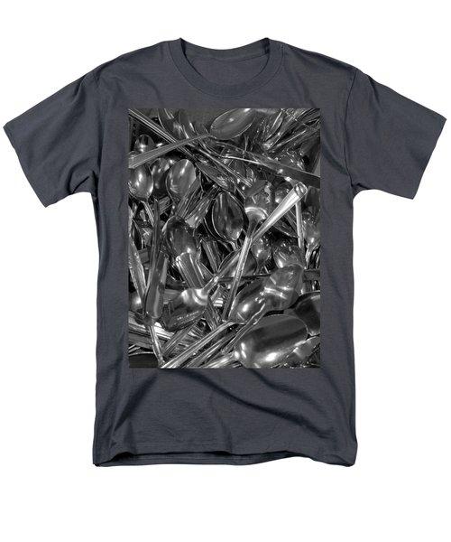 Spoons Men's T-Shirt  (Regular Fit) by Henri Irizarri