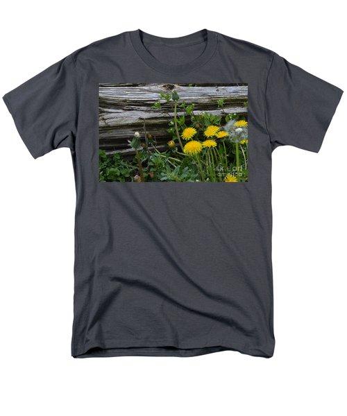 Spring Bouquet Men's T-Shirt  (Regular Fit) by Renie Rutten