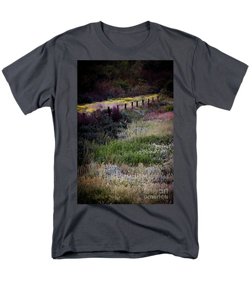 Spring Colors Men's T-Shirt  (Regular Fit) by Kelly Wade