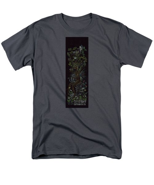 Men's T-Shirt  (Regular Fit) featuring the drawing Spring Dryad by Dawn Fairies