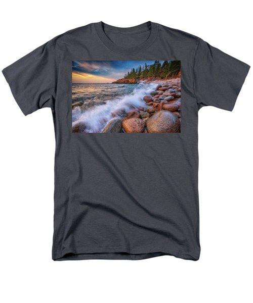 Spring Morning In Acadia National Park Men's T-Shirt  (Regular Fit) by Rick Berk