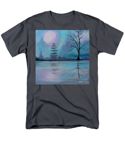 Men's T-Shirt  (Regular Fit) featuring the painting Spring Morning by Stacey Zimmerman