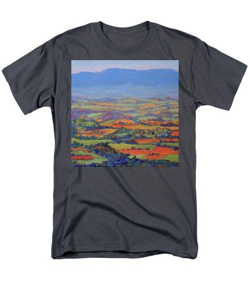 Spring Patchwork 1 Men's T-Shirt  (Regular Fit) by Bonnie Mason
