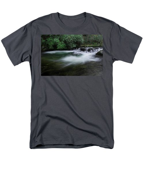 Men's T-Shirt  (Regular Fit) featuring the photograph Spring River by Mike Eingle