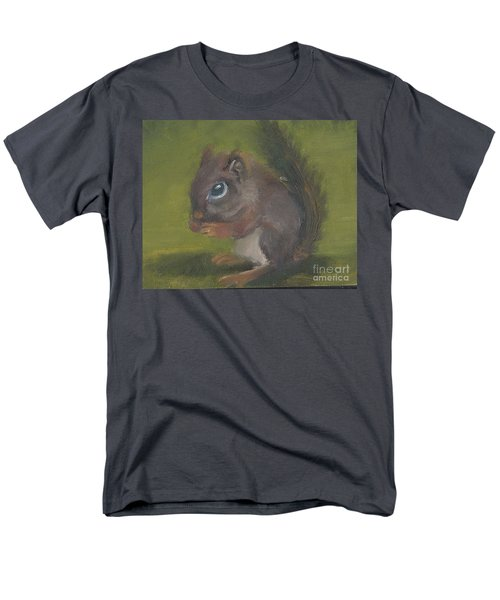 Squirrel Men's T-Shirt  (Regular Fit) by Jessmyne Stephenson