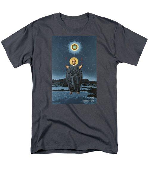 St. Ignatius In Prayer Beneath The Stars 137 Men's T-Shirt  (Regular Fit)