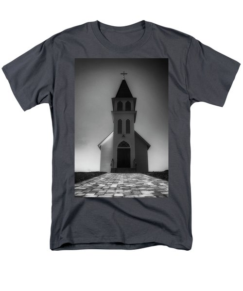 Men's T-Shirt  (Regular Fit) featuring the photograph St. Peter's Church by Joseph Hollingsworth