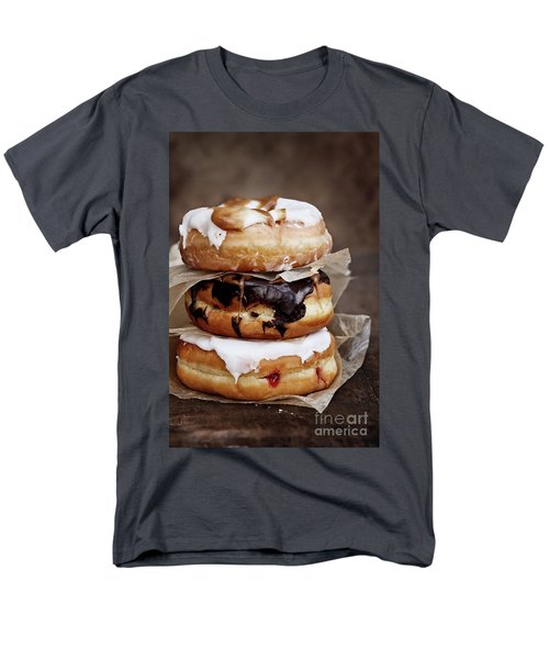 Stacked Donuts Men's T-Shirt  (Regular Fit)