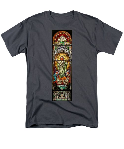 Men's T-Shirt  (Regular Fit) featuring the photograph Stained Glass Scene 10 by Adam Jewell