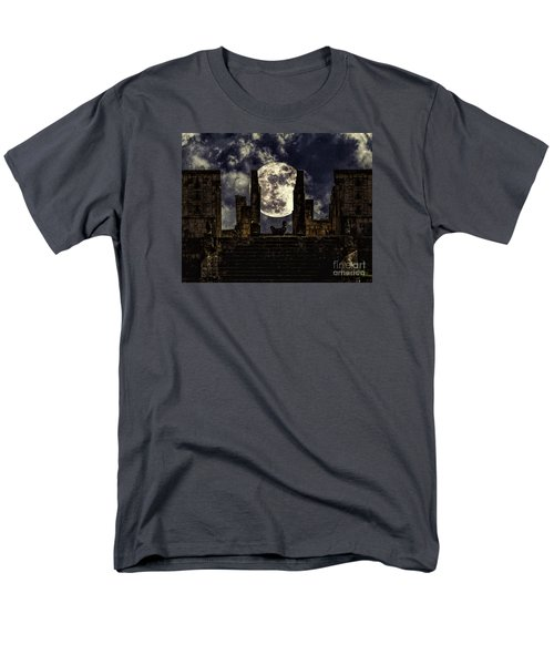 Men's T-Shirt  (Regular Fit) featuring the photograph Stairway To The Moon by Ken Frischkorn