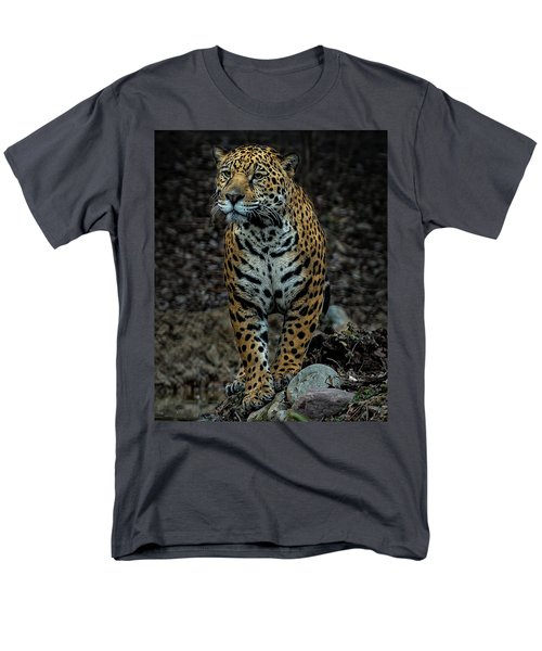 Men's T-Shirt  (Regular Fit) featuring the photograph Stalking by Phil Abrams