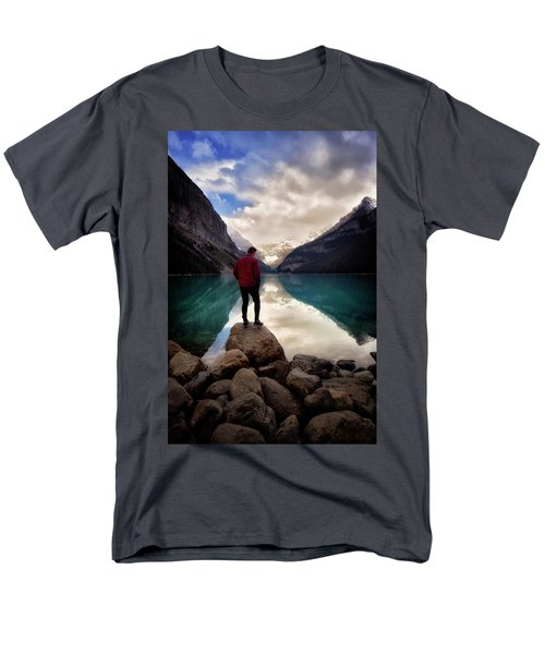Standing Alone Men's T-Shirt  (Regular Fit) by Nicki Frates