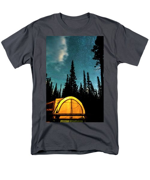 Men's T-Shirt  (Regular Fit) featuring the photograph Star Camping by James BO Insogna