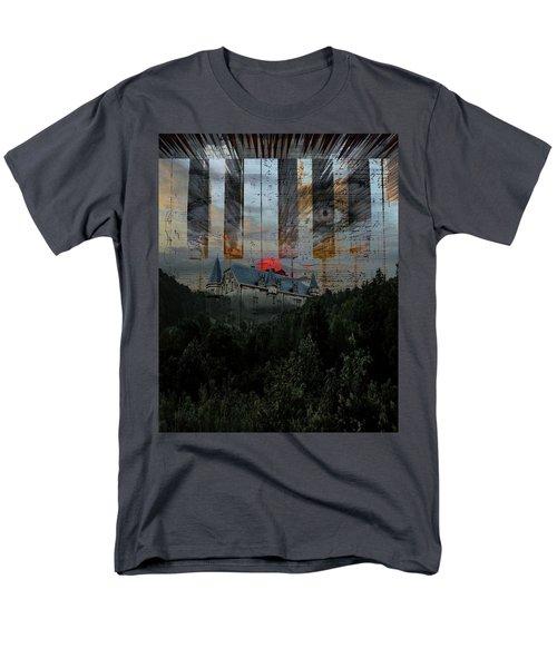 Star Castle Men's T-Shirt  (Regular Fit)