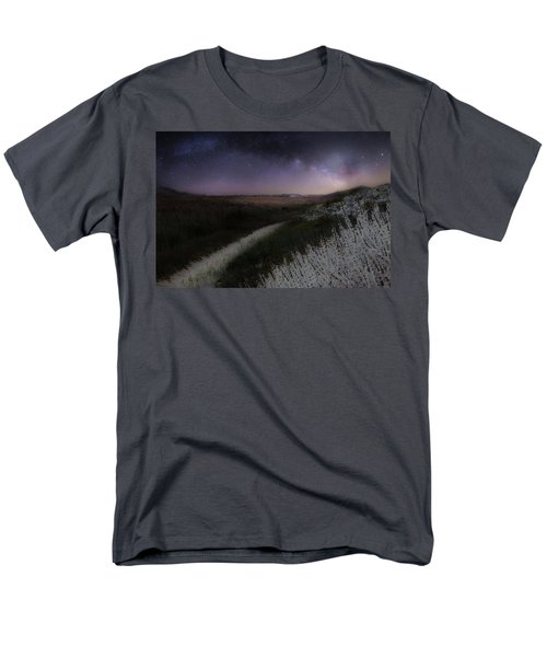 Men's T-Shirt  (Regular Fit) featuring the photograph Star Flowers by Bill Wakeley