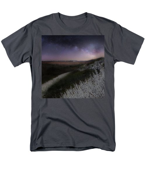 Men's T-Shirt  (Regular Fit) featuring the photograph Star Flowers Square by Bill Wakeley