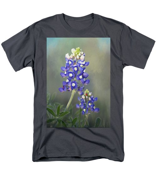 Men's T-Shirt  (Regular Fit) featuring the photograph State Flower Of Texas by David and Carol Kelly