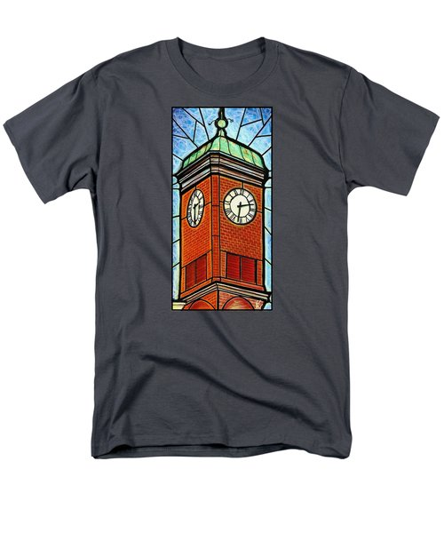 Staunton Clock Tower Landmark Men's T-Shirt  (Regular Fit) by Jim Harris