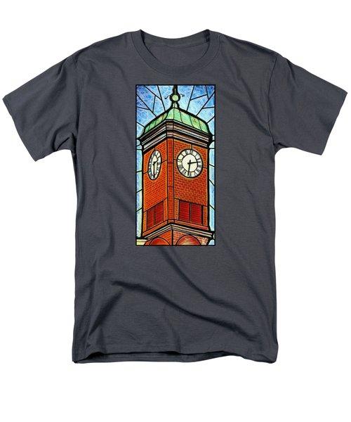 Staunton Clock Tower Landmark Men's T-Shirt  (Regular Fit)