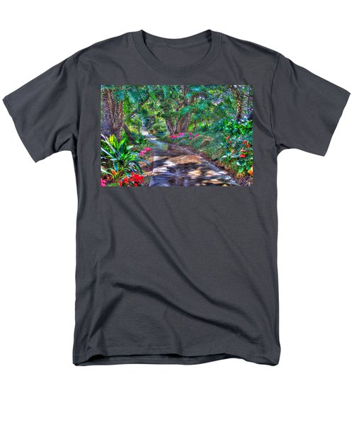 Men's T-Shirt  (Regular Fit) featuring the photograph Stay On Your Path by TC Morgan